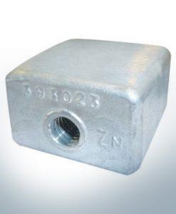 Anodi compatibili con Mercury | Bloc d'anode 436745/393023 (AlZn5In) | 9528AL