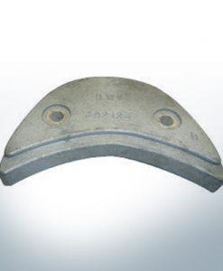 Anodi compatibili con Mercury | Anode á Piastra Ev/Jo 392123 (Zinco) | 9529