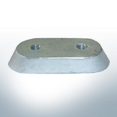 Anodi compatibili con Honda | Bloc d'anode 2-15 PS/41106-ZV4 (AlZn5In) | 9546AL