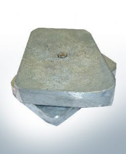 Anodi compatibili con Mercury | Anode tutto V8 Cobra 336205 6 (AlZn5In) | 9534AL