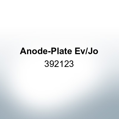 Anodes compatible to Mercury   Anode-Plate Ev/Jo 392123 (AlZn5In)   9529AL