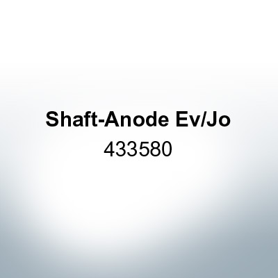 Anodes compatible to OMC| Shaft-Anode Ev/Jo 433580 (Zinc) | 9533
