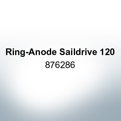 Anodes compatible to Volvo Penta | Ring-Anode Saildrive 120 876286 (Zinc) | 9201