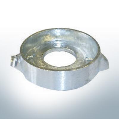 Anodi compatibili con Volvo Penta | Anodo ad anello Saildrive 120 876286 (AlZn5In) | 9201AL