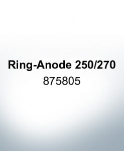 Anodes compatible to Volvo Penta   Ring-Anode 250/270 875805 (Zinc)   9206