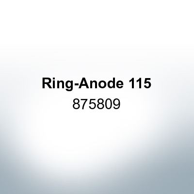 Anodes compatible to Volvo Penta   Ring-Anode 115 875809 (AlZn5In)   9211AL