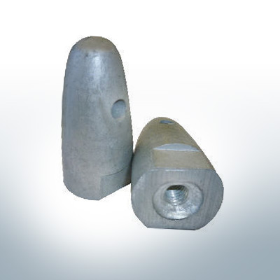 """Anodes compatible to Volvo Penta   Cap-Anode 7/16"""" 833911 (AlZn5In)   9217AL"""