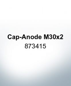 Anodes compatible to Volvo Penta | Cap-Anode M30x2 873415 (AlZn5In) | 9218AL