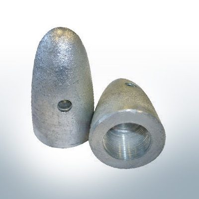 Anodes compatible to Volvo Penta   Cap-Anode M24x2 873413 (AlZn5In)   9219AL