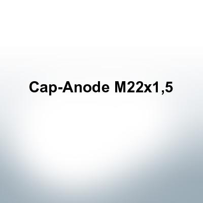 Anodes compatible to Volvo Penta   Cap-Anode M22x1,5 (Zinc)   9233