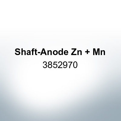 Anodes compatible to Volvo Penta   Shaft-Anode Zn Mn 3852970 (Zinc)   9235