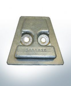 Anodes compatible to Volvo Penta | Stern-Anode 3888816A 17Z (AlZn5In) | 9239AL