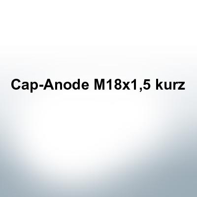 Anodes compatible to Volvo Penta   Cap-Anode M18x1,5 short (Zinc)   9242