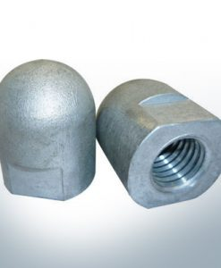 Anodes compatible to Volvo Penta | Cap-Anode M20x1,5 short (AlZn5In) | 9243AL