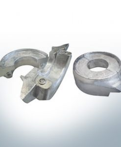 Anodes compatible to Volvo Penta | Ring-Anode 130/150 2-part 358407 | 3586963 | 3888305 | (AlZn5In) | 9244AL