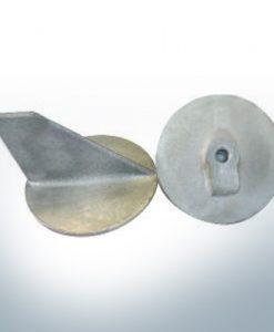 Anodi compatibili con Yamaha e Yanmar | Anodo di rifinitura <40PS M10x1,25 679-45371-00 (AlZn5In) | 9537AL