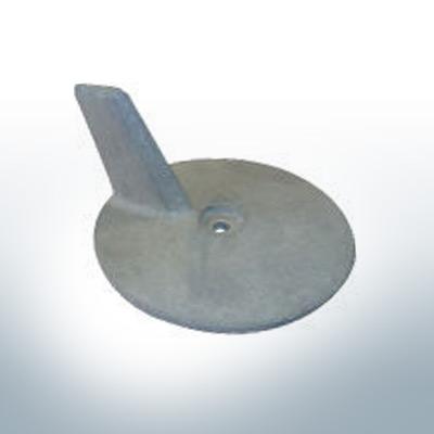 Anodi compatibili con Yamaha e Yanmar | Anodo di rifinitura 85PS 688-45371-00 (AlZn5In) | 9538AL