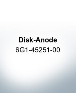 Anodes compatible to Yamaha and Yanmar | Disk-Anode 6G1-45251-00 (Zinc) | 9541