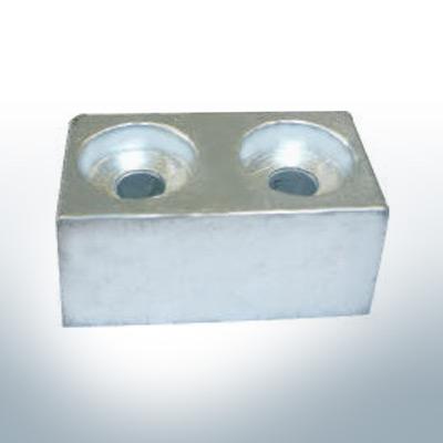 Anodi compatibili con Yamaha e Yanmar | Anodes de bloc >115PS 4325200 (AlZn5In) | 9550AL
