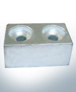 Anodi compatibili con Yamaha e Yanmar | Anodes de bloc >115PS 4325200 (Zinco) | 9550