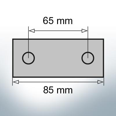 Block- and Ribbon-Anodes Block L85/65 (AlZn5In) | 9311AL