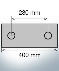 Block- and Ribbon-Anodes Block L400/280 (Zinc)   9329