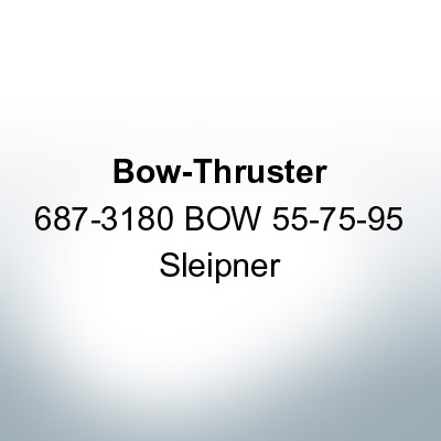 Bow-Thruster 687-3180 BOW 55-75-95 Sleipner (AlZn5In) | 9616AL