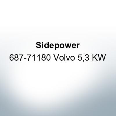 Sidepower 687-71180 Volvo 5,3 KW (Zinc) | 9622