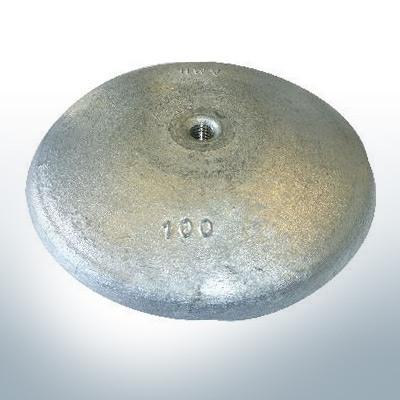 Anodi a disco Ø 100mm | M10 (Zinco) | 9800