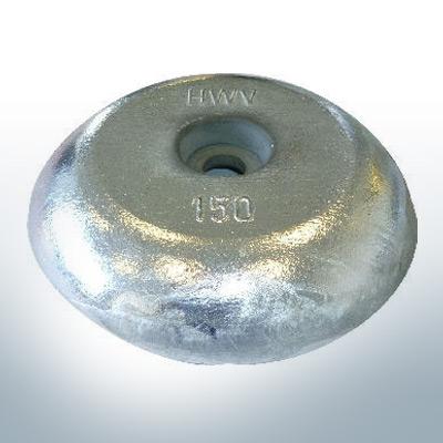 Anodi a disco Ø228 mm (AlZn5In)   9804AL