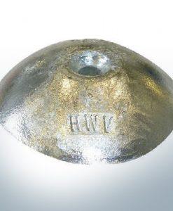 Anodi a disco | foro passante per filo M8 Ø90 mm (AlZn5ln) | 9822AL