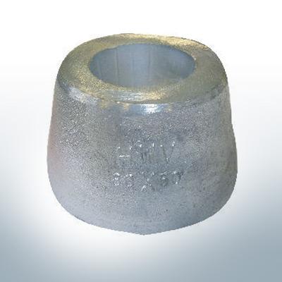 Anodi a vaso 80x50 Ø80 mm (AlZn5In) | 9808AL