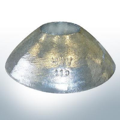 Anodi a vaso 110x40 Ø110 mm (AlZn5In) | 9809AL