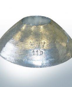 Anodi a vaso 110x40 Ø110 mm (Zinco) | 9809