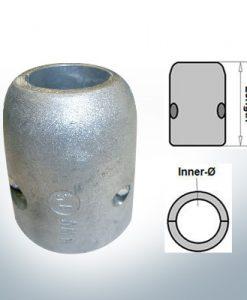 Anodi ad onda con diametro interno in pollici 1 1/4'' (AlZn5In) | 9017AL