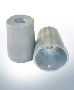 Shaftend-Anodes conical with retainer key 30 mm (AlZn5In) | 9438AL