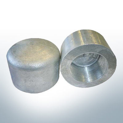 Conical Shaftend-Anode (M27) (AlZn5In)   9445AL