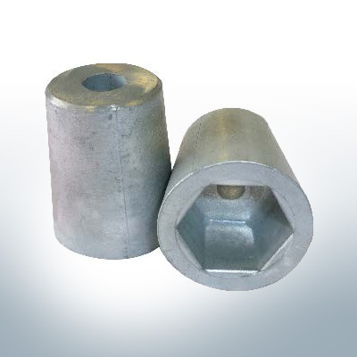 Shaftend-Anodes with hexagon socket SW27 (AlZn5In) | 9462AL