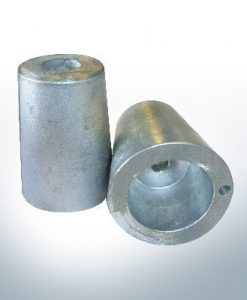 Shaftend-Anodes with carrier punch 25 mm (AlZn5In) | 9636AL